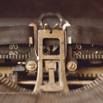 Writer's Block Antique Typewriter Vintage Macro Fine Art Photography Bowling Green KY Cheree Federico Photography